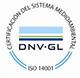 Certificado ISO 14001 de Medio Ambiente