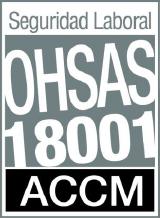 Certificado de Seguridad Laboral OHSAS18001