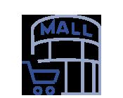 Icono Servicio de limpieza en Centros comerciales