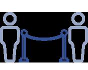 Icono recepción de asistentes
