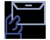 Icono Gestión de correspondencia - Documental
