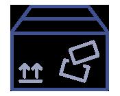 Icono Empaquetados y etiquetados