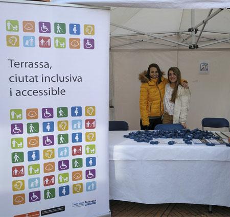 Diswork participa en el Día Internacional de la Discapacidad.